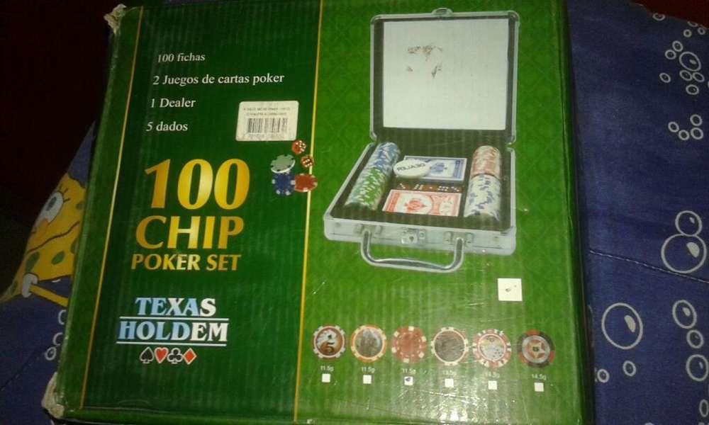 Juego de Poker Todo Completo