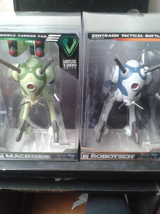 Figuras de colección Robotech