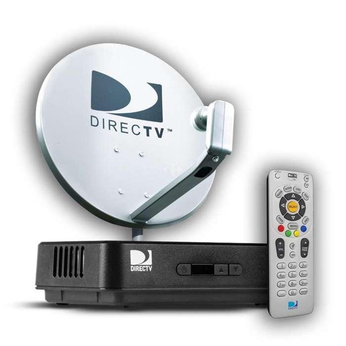 DirecTv Kit Prepago FULL HD Antena 47Cm Fácil Instalación
