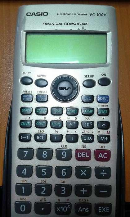 <strong>calculadora</strong> Casio Fc100