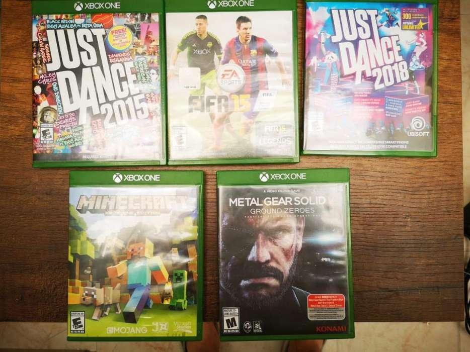 Vendo Juegos Xbox One Cada Uno