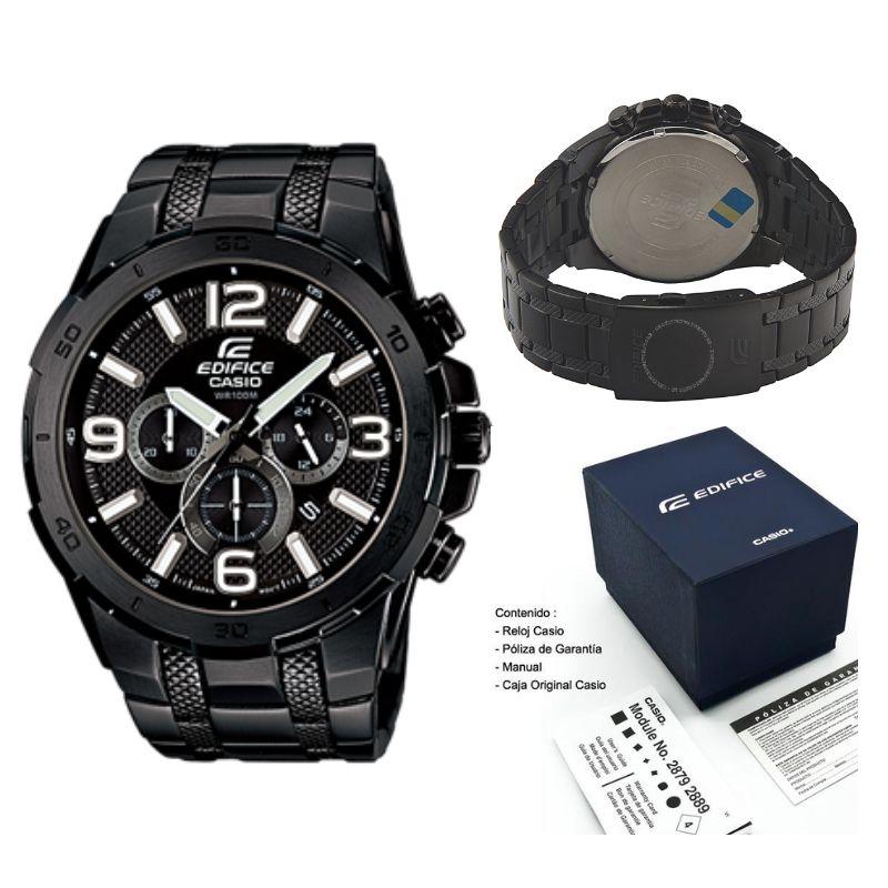 2798e97d6a8c Reloj Casio Edifice EFR 538 Negro Original Nuevo en Caja Delivery en Lima