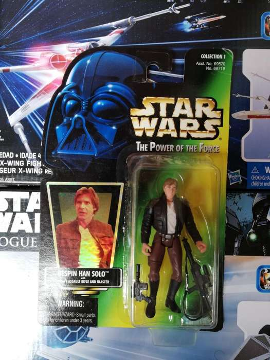 Star Wars The Power Of The Force - BESPIN HAN SOLO - Figura Kenner