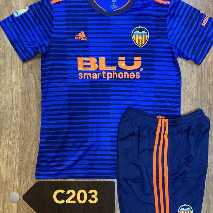 Camiseta Y Short Valencia - España