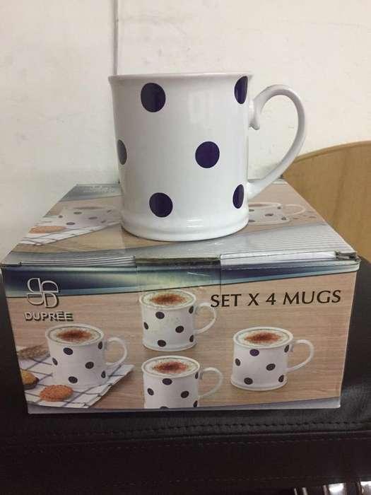 Mugs Nuevos X 4