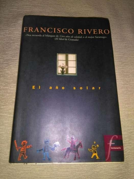 El Año Solar . Francisco Rivero . Libro . Novela 1997