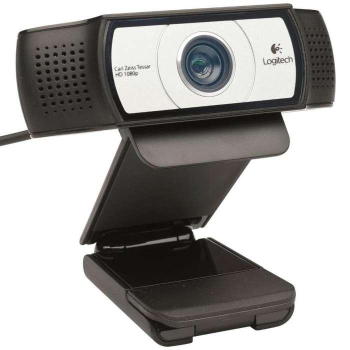 CAMARA WEB PARA VIDEOCONFERENCIAS LOGITECH C930e FULL HD 1080P CON 2 MICROFONOS INCORPORADOS