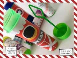 Burbujeros Granero Personalizado Souvenir Fiesta Burbujas Cumpleaños