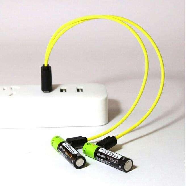 Pilas recargable AAA batería 400 mAh AAA 1,5 V baterías de polímero litio