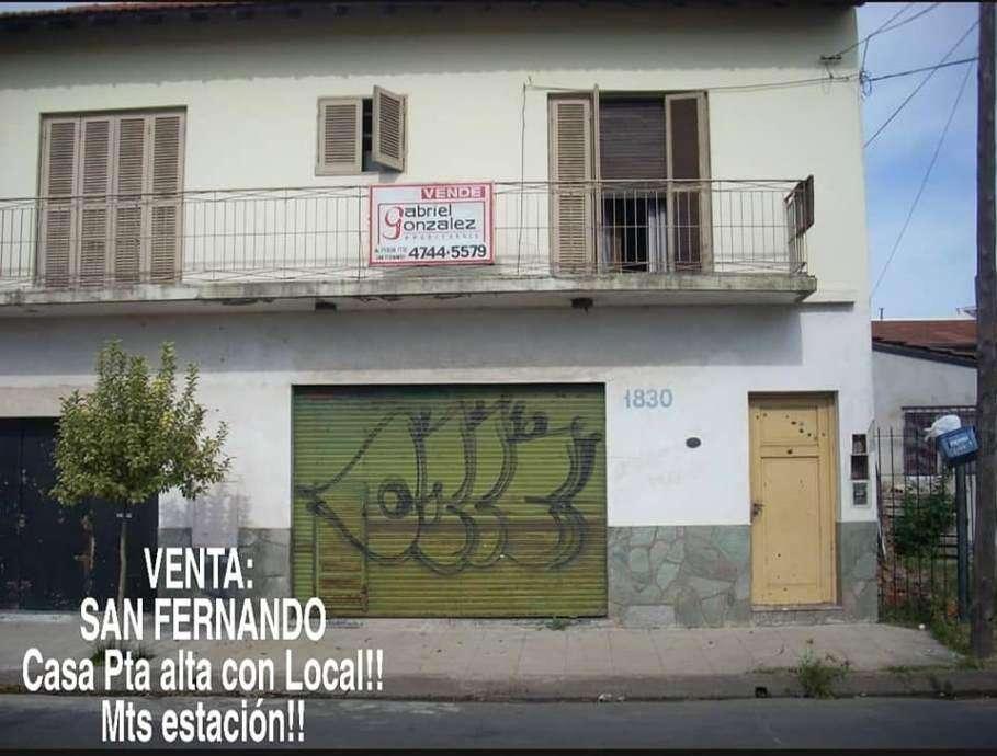Local con Vivienda en venta en San Fernando Centro