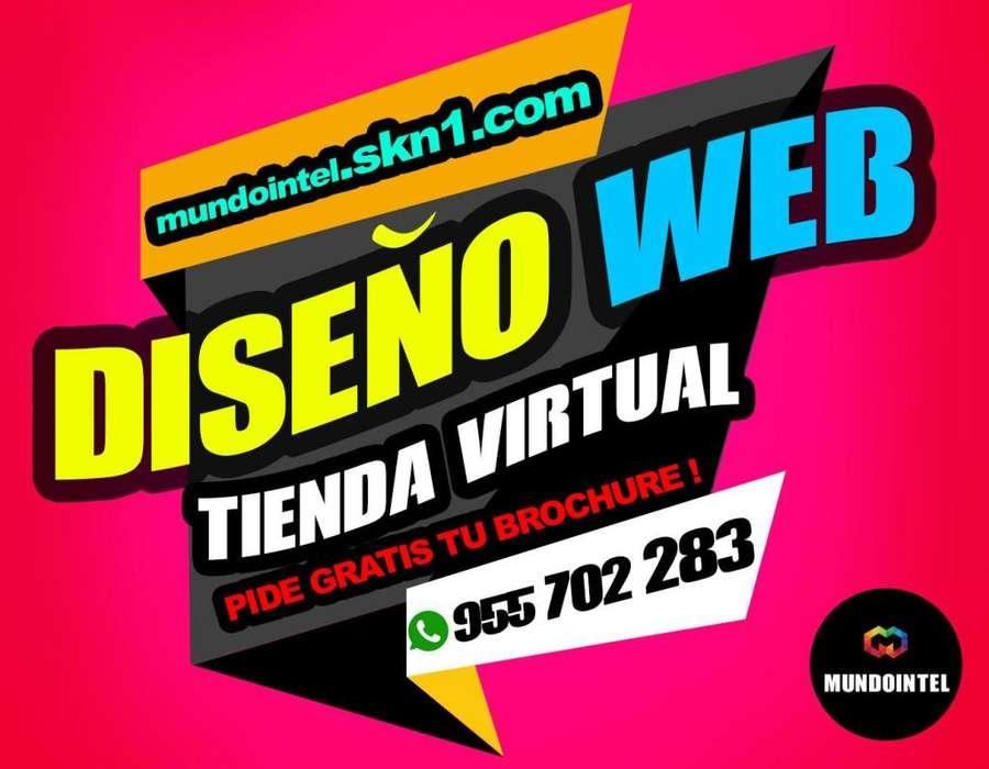 CREACION PAGINA WEB IMPACTANTES! DISEÑO WEB CON HOSTING,DOMINIO Y CORREOS INCLUIDOS. TIENDA VIRTUAL CONTROL DE STOCK
