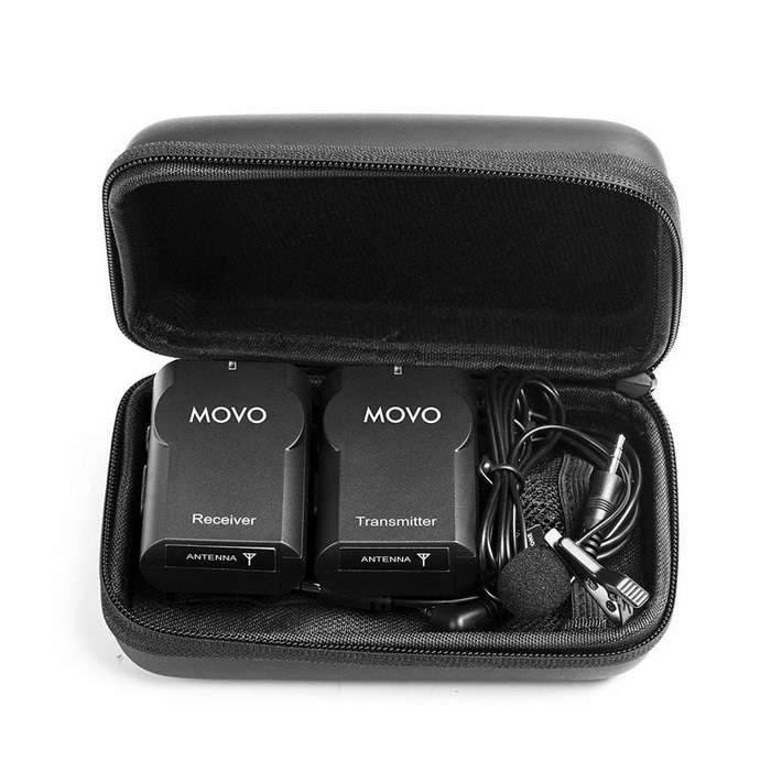 Sistema Micrófono Inalámbrico Movo Wmic10 2.4 Ghz Dslr