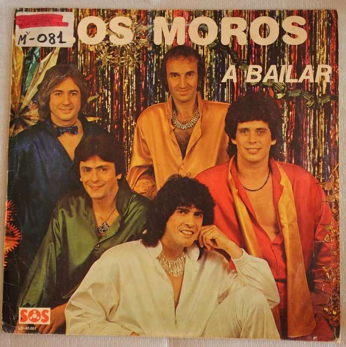Disco vinilo Los Moros a bailar