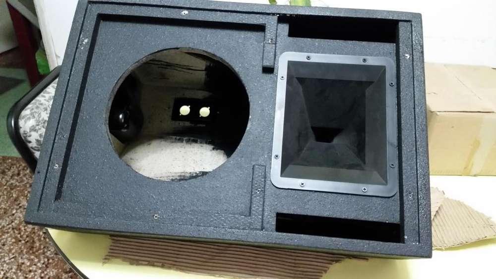 Caja Bafle Vacia Multiproposito 10 Pulgadas (el Par)