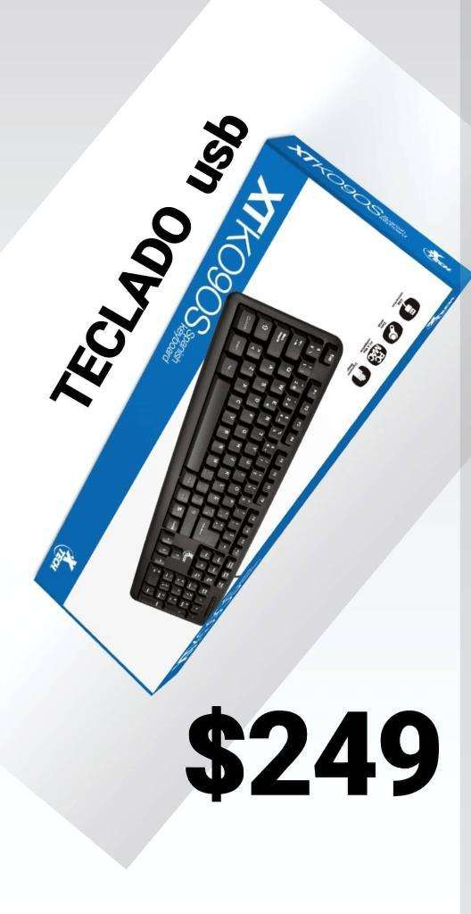 Teclado Usb Tech