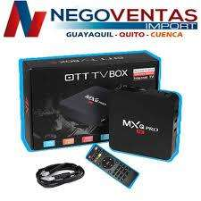 TV BOX MXQPRO 1GB RAM , 8GB INTERNA CONVIERTE TU TV A SMART DESCARGA TUS APLICIONES