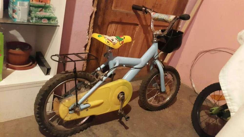 Vendo 2 Bcicletas para Niño