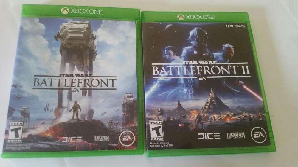 Vendo Coleccion Battlefront Xbox One