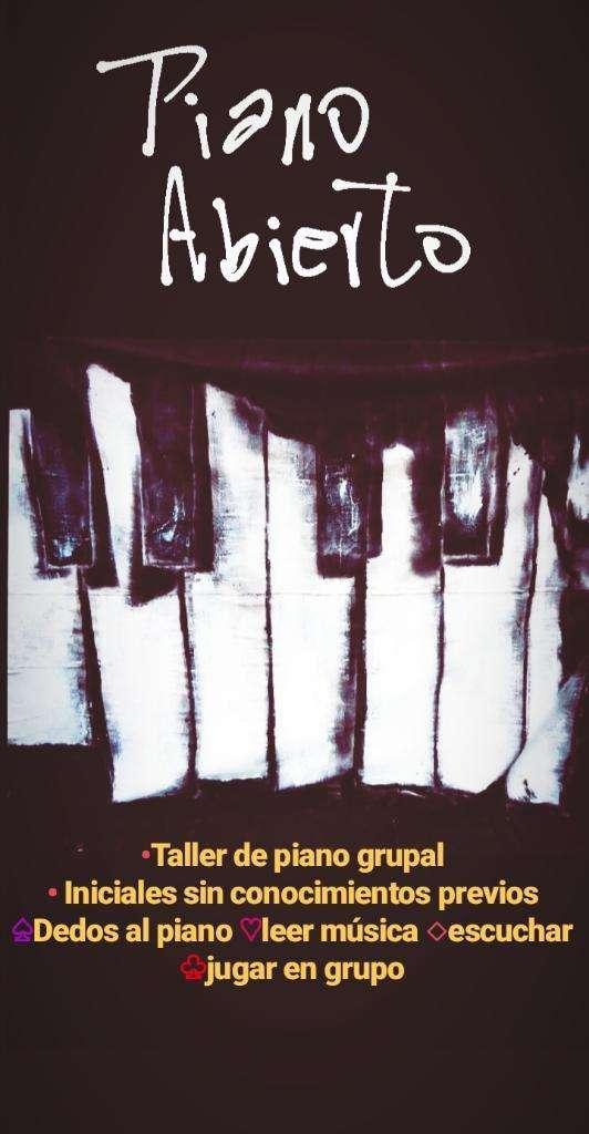 Clases de Piano Inicial La Plata