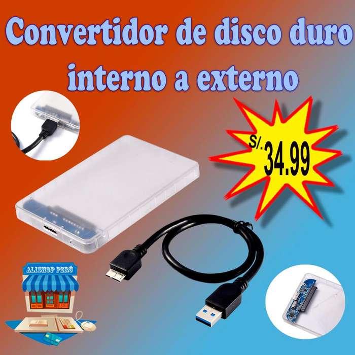 Convertidor de disco duro interno a externo