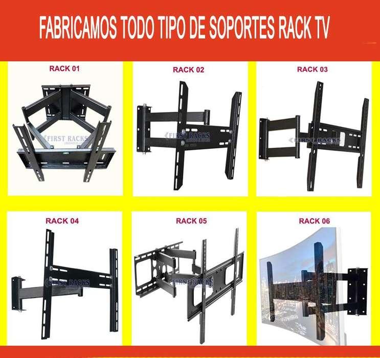 RACK PARA TV TECHO, FIJO, MOVIL, VARIEDAD MODELOS, FABRICAMOS.. 100% PERÚ / Telf 997638899
