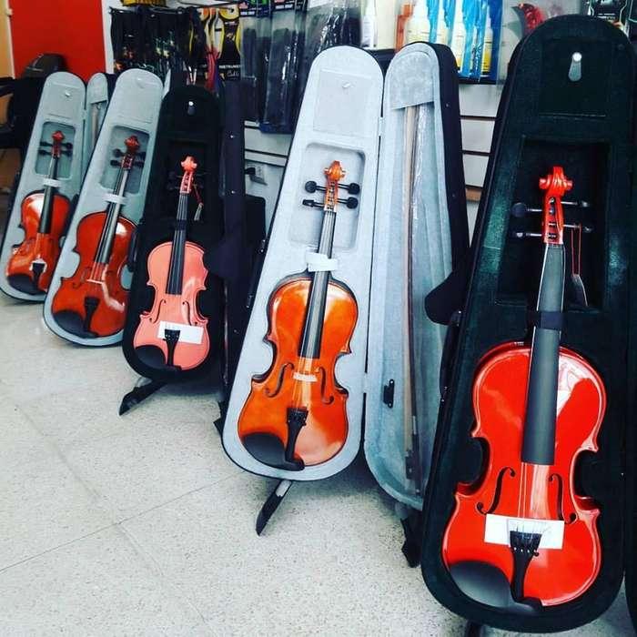 Violines 1/4, 1/2, 3/4, 4/4