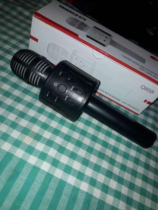 Microfono para <strong>karaoke</strong> con Radio