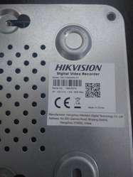 Dvr Hikvision 4 Camaras Hd Y Standard.