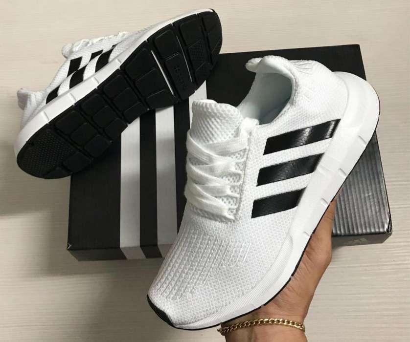 Adidas Swift Run Hombre Mujer Tenis Zapatilla