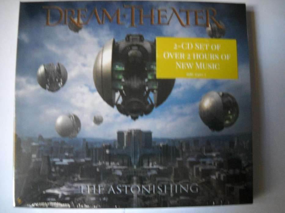 dream theater the astonishing 2 cd sellado