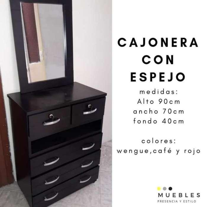 <strong>cajonera</strong> con Espejo