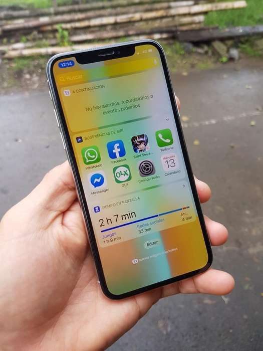 Hermoso iPhone X Poco Uso 10 de 10 Legal
