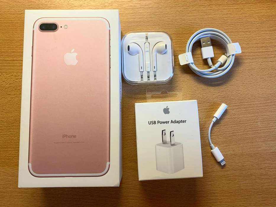 iPhone 7 Plus 128 Gb Color Rosa Liberado (usado Buen Estado)