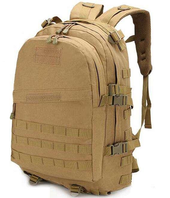 Mochila Militar Técnica Táctica Trekking Camping Hombre Army