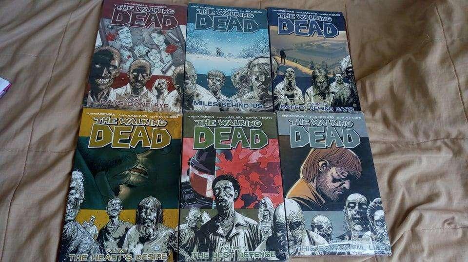 The Walking Dead Comic Volumenes 6 comics por volumen