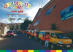 Cursos Vacacionales Quito Sunset 2019 Iniciamos todos los días Lunes de Julio y Agosto