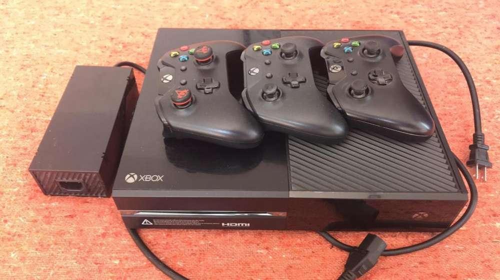Xbox One 3 Controles 2 Juegos