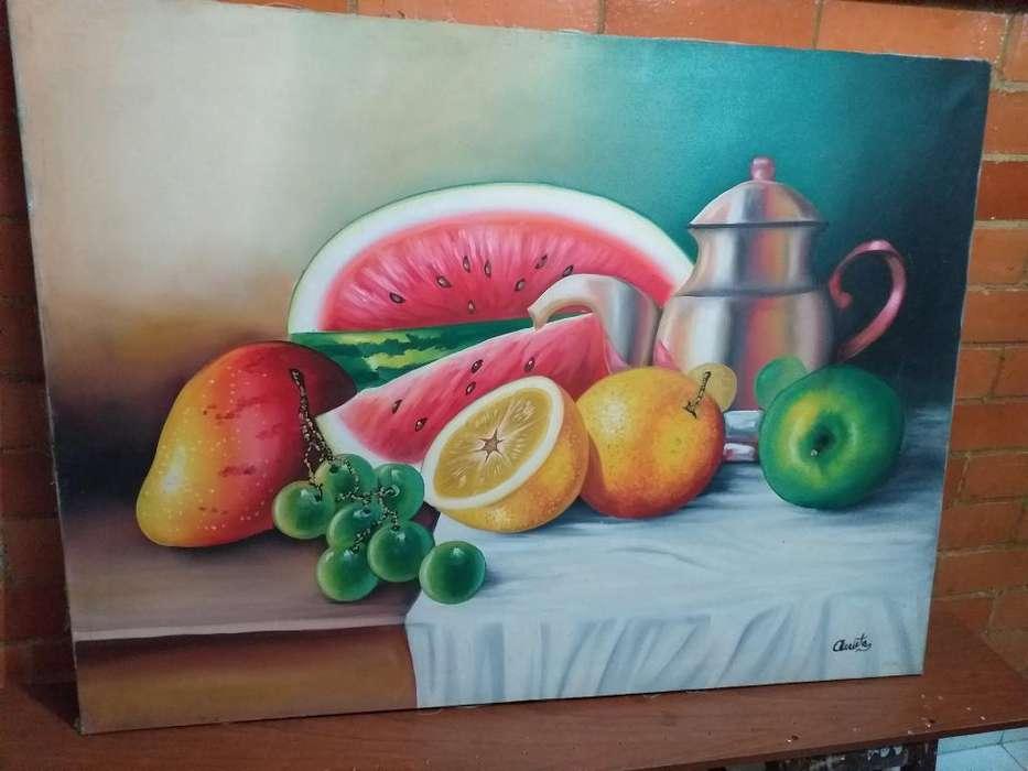 Pintura Al Oleo sobre Lienzo