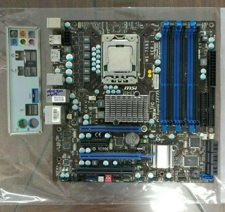 Placa Socket 1366 Msi Dx58 con Corei7 Gamers Oferta