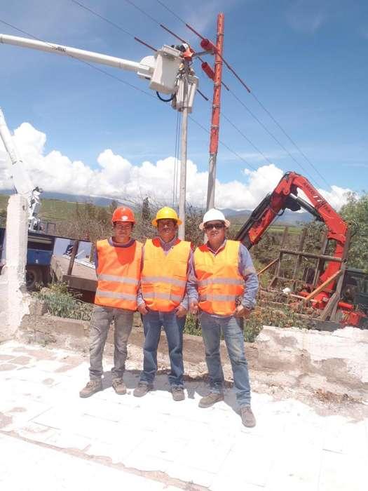 Construcción y Mantenimiento de Redes Eléctricas venta de Material Eléctrico