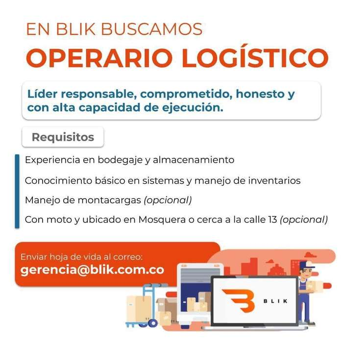 Operario logístico