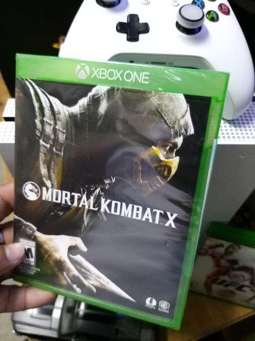 Juego Xbox One Mortal Combat X