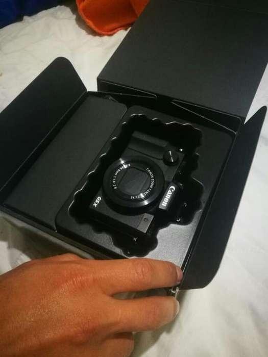 Camara Canon G5 X Nueva