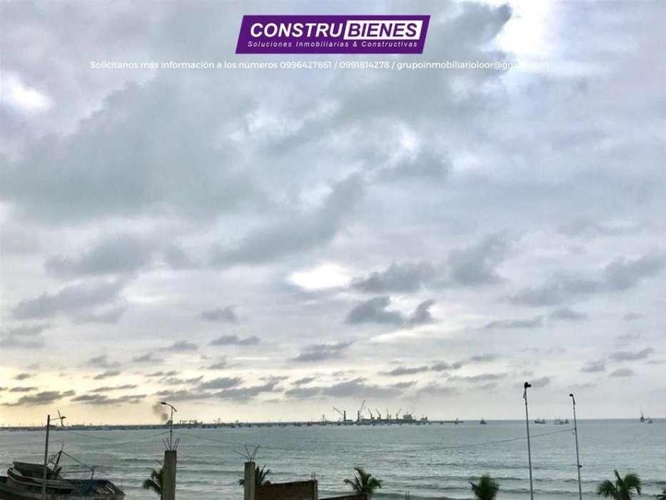 Terreno vista al mar en Los Esteros, cerca al aeropuerto y terminal de Manta.