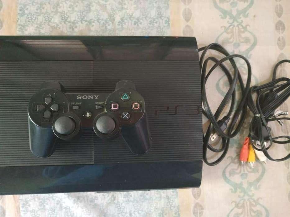 Playstation 3 (Ps3 Para Partes) Con Fuente De Poder Dañada