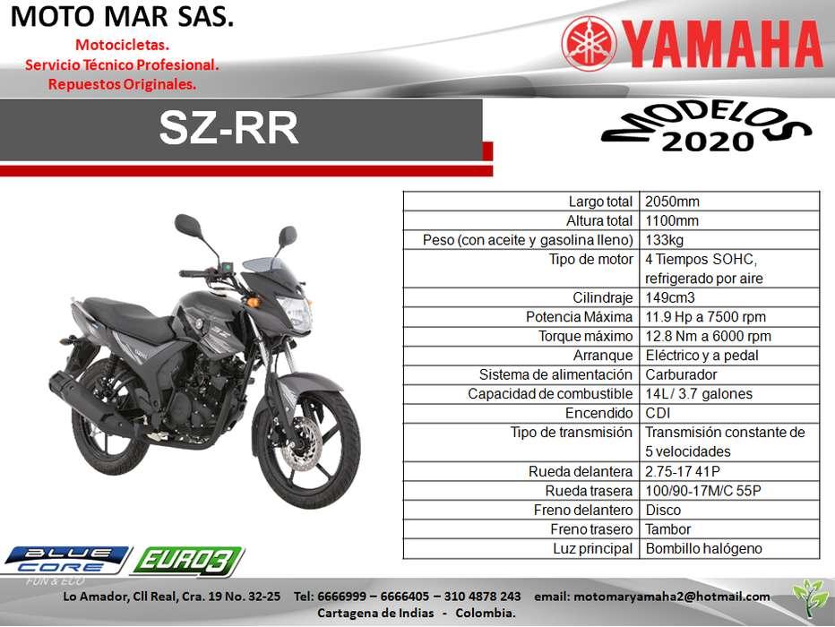 MOTO YAMAHA SZRR 150 MODELO 2020