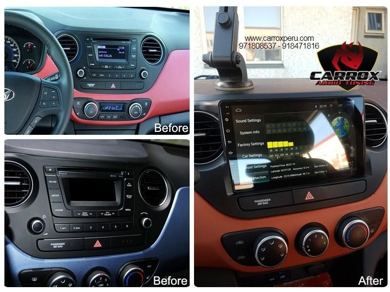 ANDROID WIFI PANTALLA TOUCH HYUNDAI GRAND I 10