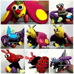 Venta y fabricación de títeres y marionetas. Todos los tamaños.