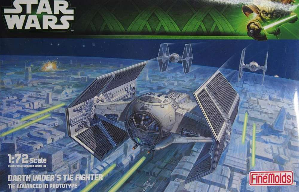 FineMolds Tie Fighter de Darth Vader 1/72