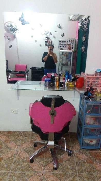 hermoso salon de belleza